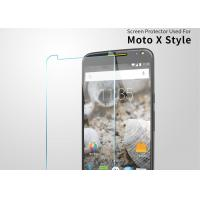 Wholesale 9H Hardness Ultra Clear Screen Protector , 2.5 D AGC Glass Moto X Screen Protector Guard from china suppliers