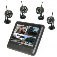 Wholesale 4 channel wireless digital camera with QUAD DVR for baby monitor from china suppliers
