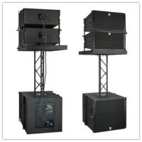 Quality 10 inch Line Array \Church Sound Speaker \Black Cabinet Club With Truss Sound \Passive Hang Line Array for sale
