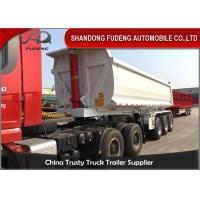 Wholesale Q345B Steel Frame Tractor Trailer Dump Trailers50 Tons Load Capacity from china suppliers