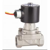 Wholesale 2 Inch SS Hot Water Solenoid Valve NC , High Temperature Solenoid Valve from china suppliers