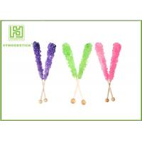 Wholesale Custom Decorative Cake Pop Sticks , Wood Round Sticks For Cotton Candy from china suppliers
