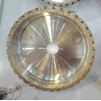 Wholesale Diamond wheels for glass beveling machine, with outside segment from china suppliers