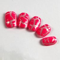 Wholesale Prink cracking nail tips Kids Fake Nails with ABS material from china suppliers