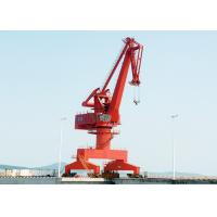 Quality 25 Ton Outdoor Yard Port Gantry Crane , Electric Cantilever Gantry Crane for sale