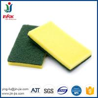 Wholesale cheap abrasive kitchen cleaning sponge scouring pad in rolls from china suppliers