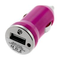Wholesale USB Pink Apple iPhone Car Chargers For Apple iPhone 4 / 4G With Car Cigar Lighter from china suppliers