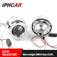 Quality Hot selling Changan Ford Fox 06 / Carnival 09 Modified Lens Led Angel Eyes for H4/H7 Car 35W Bi xenon Projector Lens for sale