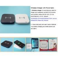 Wholesale Wireless Charger with 3500mah Power bank from china suppliers