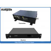 Wholesale 1080P FULL HD Mobile Video Transmitter Police Security Surveillance COFDM AV Transmitter from china suppliers