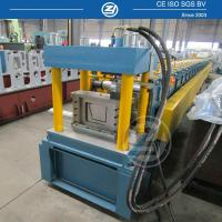 Quality High forming Speed Metal Gutter Roll Forming Machine with Mitsubishi PLC for sale