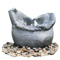 Quality 50 X 37 X 41 cm Granite Cast Stone Outdoor Water Fountains For Home for sale