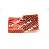 Wholesale Red Nylon Bristles Blocks Bristle Brushes For Lectra Cutter VT2500 from china suppliers