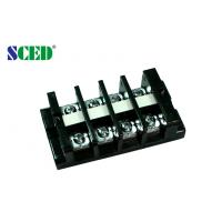 Wholesale 19.00mm Panel Mount High Current Terminal Block pluggable 600V 60A from china suppliers