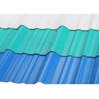 Wholesale Wind Resistance APVC Plastic Corrugated Roofing Sheets 1132 MM Width For Police Post from china suppliers