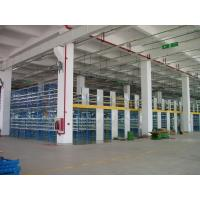 Wholesale Two Tier Flooring Industrial Mezzanine Floors Shelving 5m Height with Side Board from china suppliers