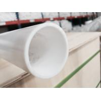 Wholesale moulded PTFE tube , PTFE tubing , PTFE pipe made with white 100% virgin PTFE material from china suppliers