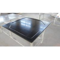 Wholesale Resist Heat Epoxy Resin Laboratory Worktops , Black Glare Surfaces from china suppliers