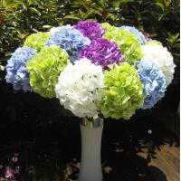 Wholesale UVG Wholesale Silk Flowers from China Beauty Artificial Hydrangea Ball Wedding Table Decor from china suppliers