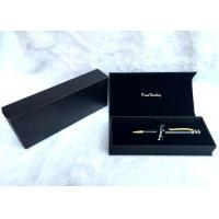 Wholesale Luxury Foldable Custom Gift Pen Box Handmade With Matt Lamination , 190×85×35mm from china suppliers