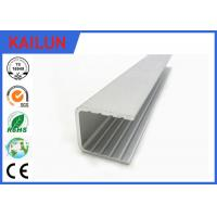 Wholesale Powder Coating Aluminium U Channel Extrusion Profiles For Building Curtain Glass Wall from china suppliers