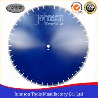 """Wholesale 25"""" Outer Diameter 650mm Reinforced Concrete Diamond Saw Blade with Sharp Segments from china suppliers"""