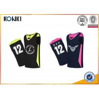 Wholesale Mesh Fabric Custom Sports Apparel Basketball Uniform For Adults Womens / Men from china suppliers
