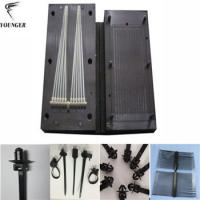 Wholesale push mount fir tree bolt head cable tie mould for automotive from china suppliers