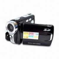 Quality 12-megapixel Digital Video Camera with 2.8-inch LCD Display and Li-ion Battery Power Supply for sale