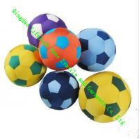 Wholesale Small Foam Particles Football Soft Toy Pillow / Cushions For Kids To Play from china suppliers