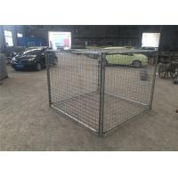 Wholesale Construction Building Rubbish Cage Brisbane Cage With 2 Gates / Lids from china suppliers