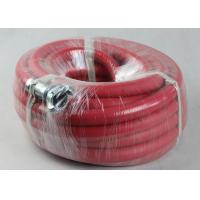 Quality ID 19mm x 50 ft Rubber Air Hose for Rock Drilling , Coiled Air Hose for USA market for sale