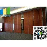 Wholesale Moving Baffle Sliding Folding Partition Walls Aluminium Frame Panel With Door from china suppliers