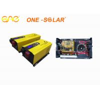 6000W 48vdc 220vac Low frequency pure sine wave solar inverter 630*280*200mm