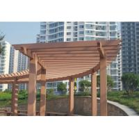 Wholesale Wood Plastic Composite Projects / WPC Garden Shelf Decorative Board from china suppliers