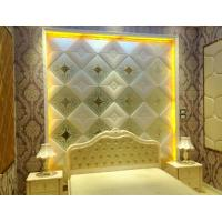 Wholesale 7 mm Translucent Glass Panels Diamond Shape / Painted Decorative Wall Glass Panels from china suppliers