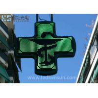 Wholesale PH10MM Led Pharmacy Sign For Drag Store 600mm×640mm Cabinet Size from china suppliers