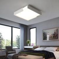 Buy cheap Square led ceiling lights for living room bedroom Kitchen plafondlamp indoor Lamp with Remote Control lamparas from wholesalers
