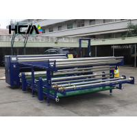 Wholesale Garment Rotary Heat Transfer Machine , Sublimation Heat Transfer Press Machine from china suppliers