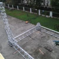 Wholesale Big Event Aluminum Alloy Folding Truss System , Trade Show Booth Truss 1000mm X 580mm from china suppliers