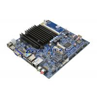 Wholesale LVDS Fanless PC Motherboard DC12V , Quad Core CPU J1900 Mini ITX Board from china suppliers