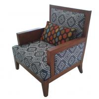 Wholesale Hotel fabric lounge chair ,single sofa LC-0016 from china suppliers
