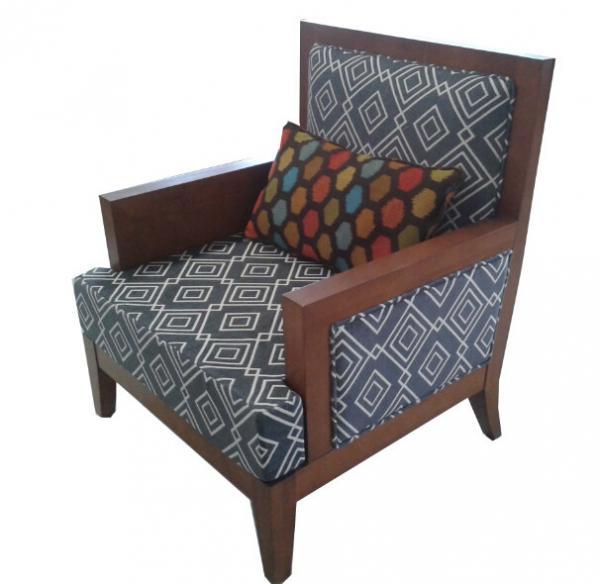 Hotel fabric lounge chair single sofa lc 0016 of item for Single lounge chairs for sale