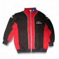 Wholesale Racing Sweatshirt, OEM Order is Welcome, Made of 100% Polyester Fleece from china suppliers