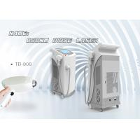 Quality 808nm Permanent Hair Removal Laser Machine , Hair Epilation Machine Pain Free for sale