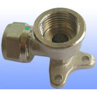Wholesale compression brass fitting wall elbow for PEX-AL-PEX from china suppliers