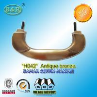 Wholesale Zinc Alloy Coffin Handle H042 Metal Handle For Coffin And Casket from china suppliers