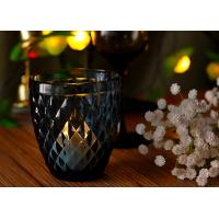 Wholesale Mouth Blown Glass Candle Holders For Wedding , Candle Glass Containers from china suppliers