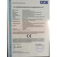 ZHEJIANG VINOT MACHINERY TECHNOLOGY CO.,LTD Certifications