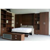 Wholesale Amercian Style Murphy Folding Wall Bed, Multifunctional with Sofa and Bookshelf from china suppliers